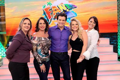 Lu Barsotti, Débora Rodrigues, Celso, Jaqueline e Lu Barsoti