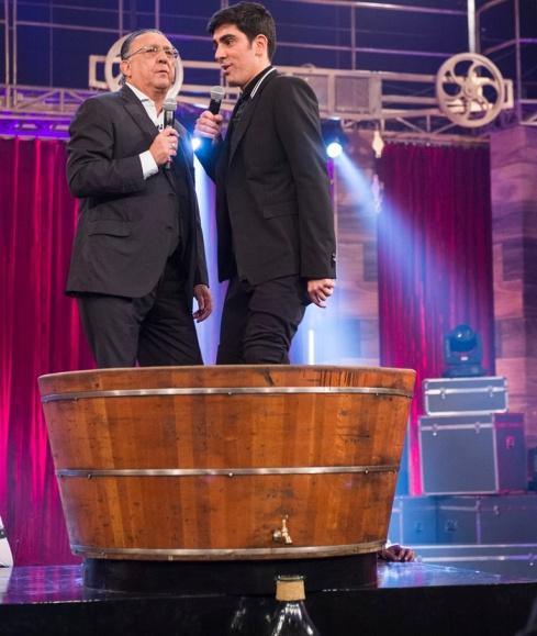 Marcelo Adnet e Galvão Bueno