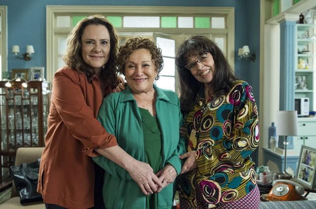 Elizabeth Savala, Nicette Bruno e Cristina Pereira (Divulgação/TV Globo)