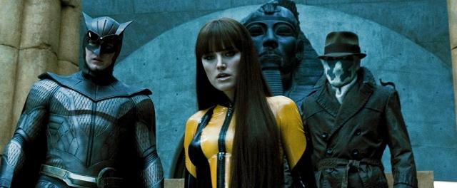 Watchmen – O Filme é cartaz da Globo na madrugada